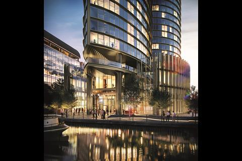 Spire London Docklands Greenland Group